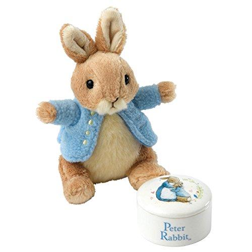 Beatrix Potter Peter Rabbit Boîte à Bijoux & Jouet de