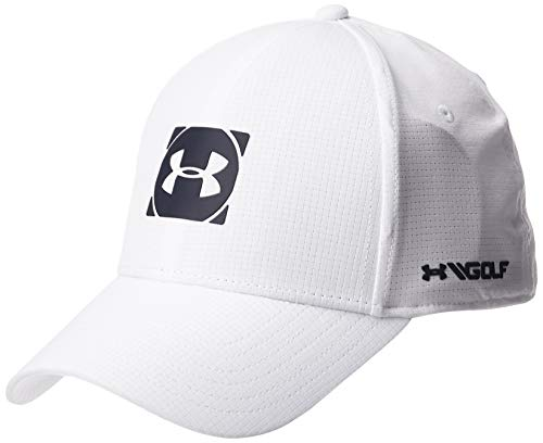 Under Armour Men's Official Tour 3.0 Gorra, Hombre, Blanco, L/XL