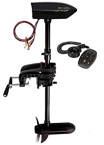 Belly Boot Elektromotor 24 lbs mit Fernsteuerung Black Cat