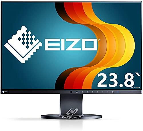 EIZO FlexScan EV2450(黑)/フレームレス·IPS/23.8インチ/HDMI対応/1920×1080 /フルHD/USBハブ/16:9/画面回転 高さ調整/PS· Switch対応(整備済み品)