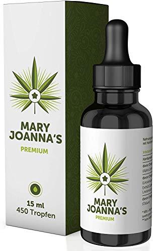 MaryJoanna\'s - Original - 15ml - Hochdosiert - 100{c18405fa66faa76f02235660aa28215693ff3fd6ec353ad0c79947e8aaaa7802} Bioverfügbarkeit - 450 Vital Tropfen - Made in Germany