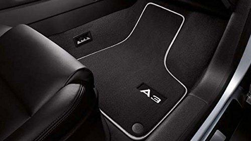Original Audi Ersatzteile PREMIUM Audi A3 8P Original Velour Fußmatten 4teilig