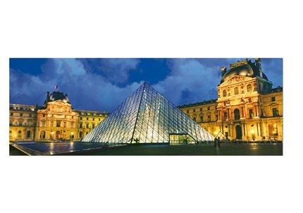 Puzzle 1000 Piezas Museo del Louvre, Paris, Francia PANORAMICO