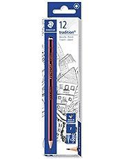 Staedtler Tradition 110-F ołówki F (pudełko 12 sztuk), czarne