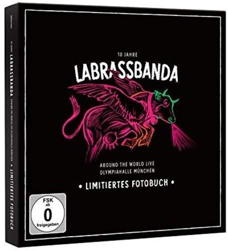 Around the World LIVE - Ltd. Fotobuch (CD, 2DVD, bluRay) (10 Jahre LaBrassBanda)
