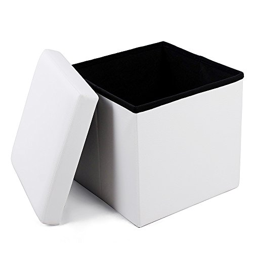 Songmics LSF103 - Banqueta plegable con compartimento para almacenaje