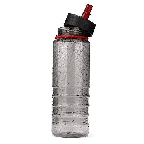 CS-BWP Bouteille d'eau de voyage avec paille pour le sport, le cyclisme, la randonnée, le vélo, la gym, le sport (couleur : D, taille : unique)
