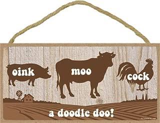 SJT ENTERPRISES, INC. Oink moo Cock a Doodle doo 5