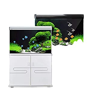 Fish Tank Aquarium Living Room Floor-To-Ceiling Household Water-Free Ecological Goldfish Tank Landscaping wi...