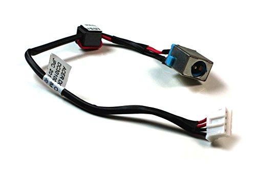 Power4Laptops Ersatz Netzteilbuchse Strombuchse mit Kabel kompatibel mit Acer Aspire E1-571G