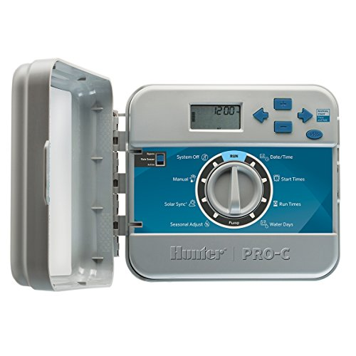 Hunter 12 Fixed Station Pro-C Sprinkler Outdoor Controller PCC-1200