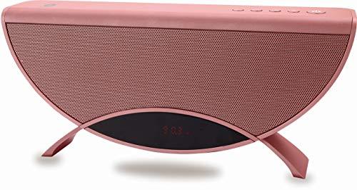 Conceptronic APOLLYON01R 10 W Rojo - Altavoces portátiles (10 W, 60-18000 Hz,...