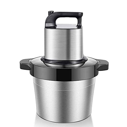 Electric Food Processor, Multifunctionele Household Meat Grinder, 6L roestvrijstalen kom, dubbele Gear Speed ​​Regulation, Home And Commerciële keuken Vlees