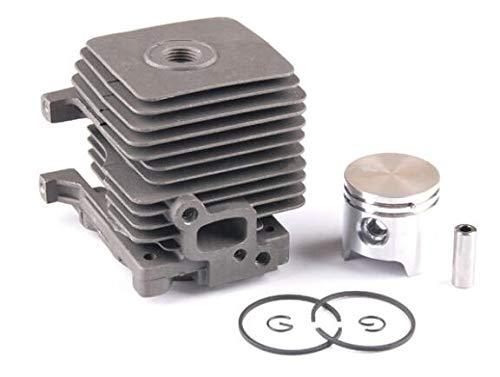 Kit de montaje de grupo de pistón de cilindro de recorte de 34 mm para desbrozadora STIHL FS38 FS55 FS45 BR45 KM55 HL45 HS45 HS55 4140 020 1202