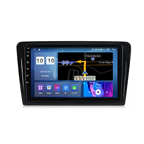 ADMLZQQ Autoradio Bluetooth 9 Pollici for VW Santana 2013-2017 Car Radio Touchscreen Eingebaut Carautoplay GPS RDS Backup Camera Plug And Play 5G WiFi SWC Support DVR/TPMS/Dab+/OBDII,M600s
