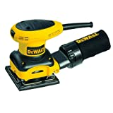 DEWALT D26441 2.4 Amp 1/4 Sheet Palm Grip Sander with Cloth Dust Bag
