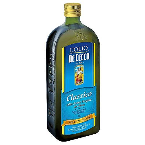 3x De Cecco Classico Natives Olivenöl Extra Olio Extra Vergine 1 Lt nativ