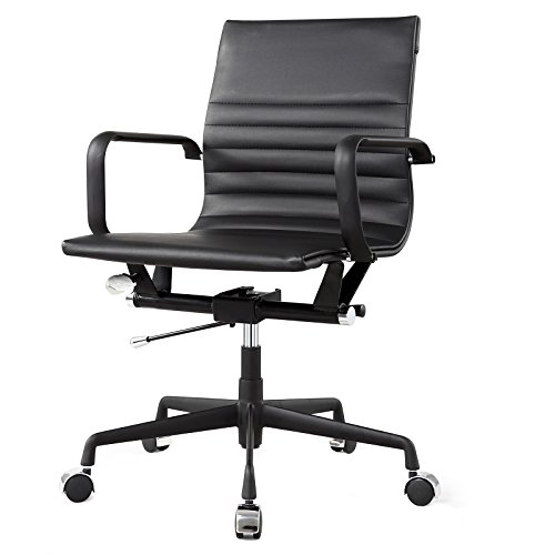 MEELANO M348 Home Office Chair, Black