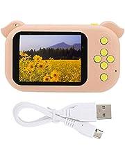 Camera digitale Fotocamera, Huairdum Fotocamera, Mini Fotocamera Digitale Carina, con Fotocamera Singola, per Bambini,(Pink)