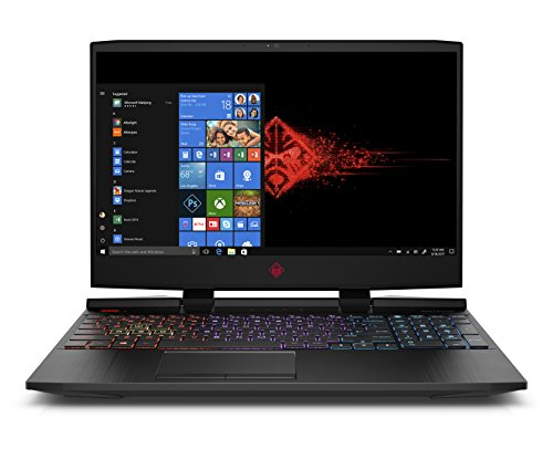 "HP OMEN 15-dh0005ns - Portátil Gaming de 15.6"" FullHD (Intel Core i7-9750H, 16GB RAM, 1TB HDD + 256GB SSD, NVIDIA GeForce RTX 2060-6GB, FreeDOS) negro - teclado QWERTY Español"