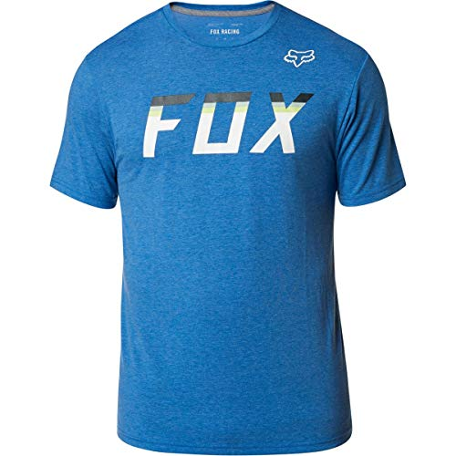 Fox Racing On Deck Tech T-Shirt (X-Large) (Heather Royal)