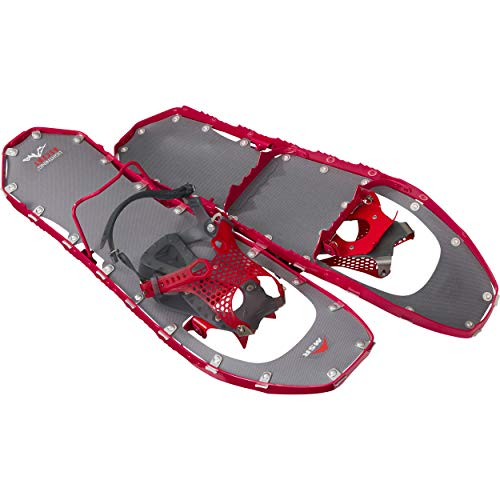 MSR Lightning Ascent Women's Backcountry & Mountaineering Snowshoes with Paragon Bindings, 22 Inch Pair, Raspberry