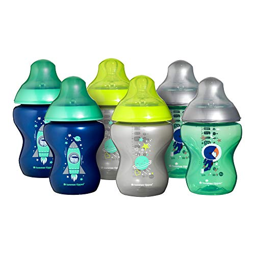 Tommee Tippee Closer to Nature® Baby Bottles, Breast-Like Teat with...