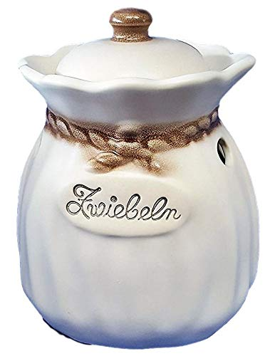 Zwiebeltopf Zwiebelsack Keramik Zimmermann Germany Premium