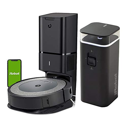 iRobot Roomba i3+ (3550) Wi-Fi Connected Robot Vacuum with Dirt Disposal and Virtual Wall Barrier Bundle (2 Items)
