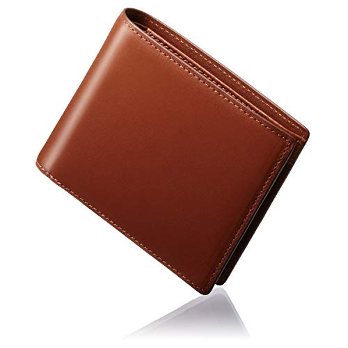 GLEVIO[グレヴィオ] 日本製 栃木レザー 一流の財布職人が作る 財布 メンズ 本革 二つ折り財布 折財布 父の日 プレゼント