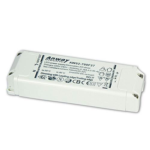 ANWAY LED Treiber AW02-700F27 23W/700mA/20-32V