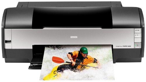 Epson Stylus Photo 1400 Wide-Format Color Inkjet Printer (C11C655001)