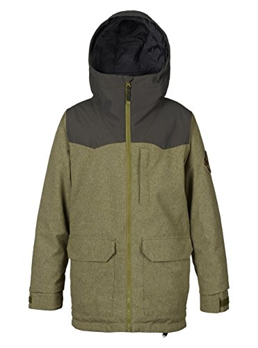 Burton Jungen Phase Jacket Snowboardjacke, Olive Branch/Forest Night, S