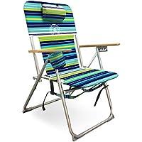 Caribbean Joe High Weight Capacity Back Pack Beach Chair