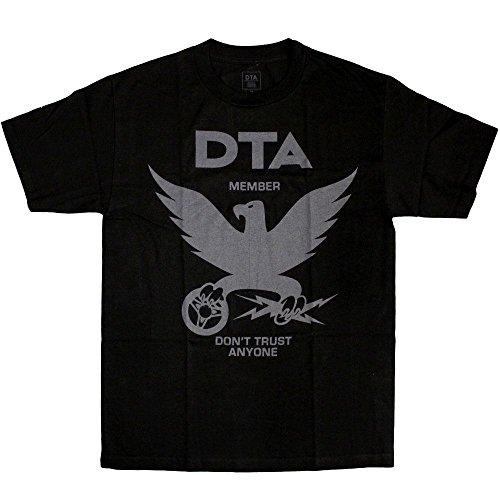 DTA RS Eagle New T-Shirt Black Grey[Black,S]