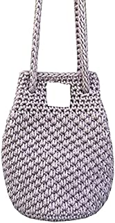 Sweet Bhome Hand made Cotton Thread Hand Bags for Girls/Women in Pink Colour(Pack of 25)