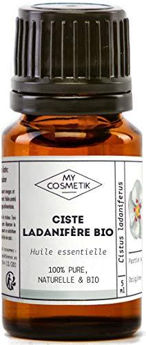 Aceite esencial de cisto ladanifero orgánico - MyCosmetik - 2 ml
