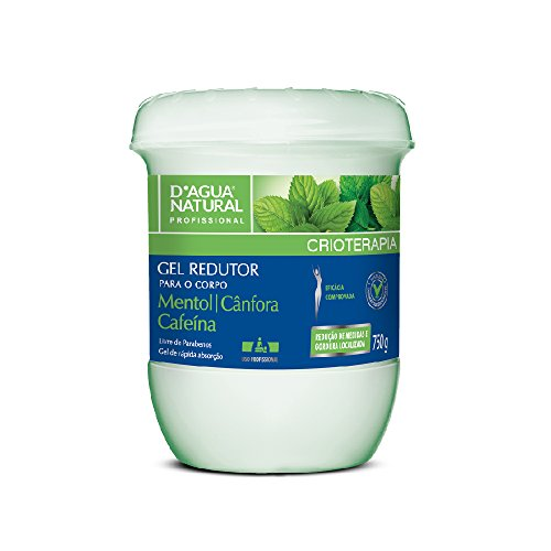 Gel Redutor, D'agua Natural, 750 g
