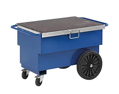 Gereedschapswagen | Werkplaatswagen met grote opbergruimte. Het deksel kan ook als werkblad worden gebruikt.