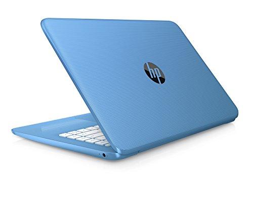 HP Stream 14-ax000na 14-inch HD Laptop (Aqua Blue) - (Intel Celeron N3060, 4GB RAM, 32GB eMMC, 1TB OneDrive and Office 365, 1 Year Subscription Included, Intel HD Graphics, Windows 10)