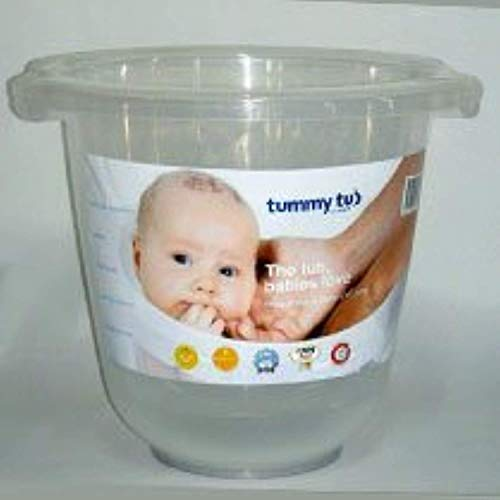 Badeeimer Tummy Tub transparent
