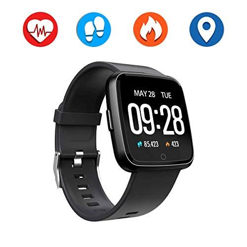 PRIXTON - Reloj Inteligente/Smart Band para Hombre y Mujer, Control de Actividad de Diaria y Aviso de notificaciones | AT803