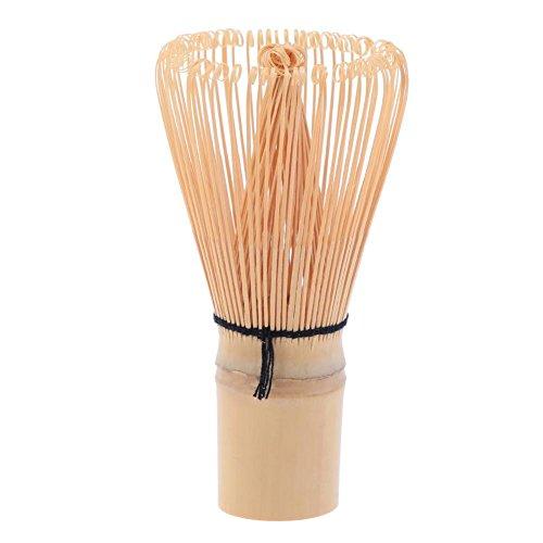 Demiawaking Frusta di Bambù Matcha Chasen Frusta per Matcha Lavorato a Mano Strumento per la Cerimonia del Tè Giapponese (48 bordi)