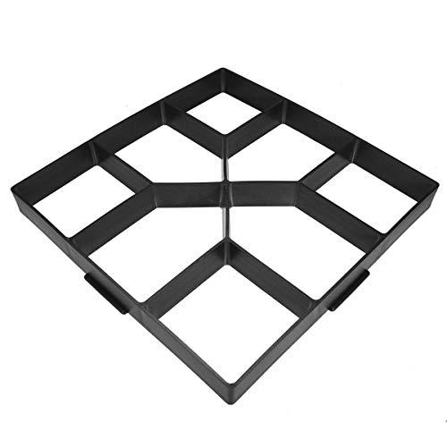 Bob Temple322000 Haus Dekoration DIY Garten-Weg-Maker-Modell Betonstein pflaster Stepping Gehweg Fertiger-Form-Werkzeug