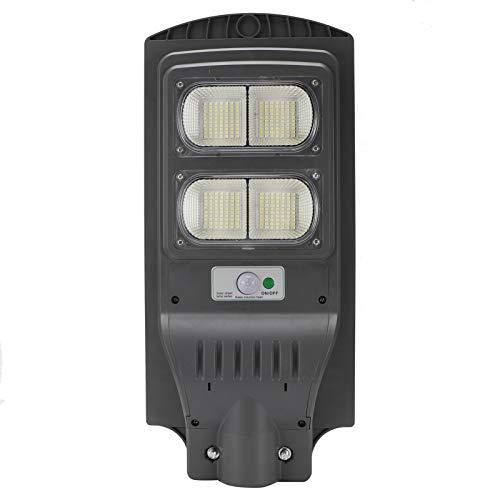 zhoul Solarlicht/Solar Ambience Straßenlaterne, 110W Solarstrom Straßenlaterne LED Radarsensor Plaza Garden...