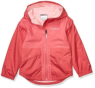 Columbia Kids & Baby Rainy Trails Fleece Lined Jacket, Rouge Pink, X-Small