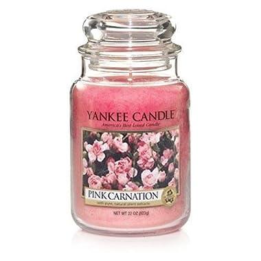 Yankee Candles Large Jar Candle - Pink Carnation