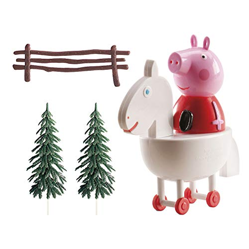 Dekora-302029 Kit de Decoracion de Tartas con Figuras Decorativas de Peppa Pig, Multicolor (GU24162)