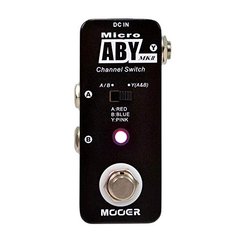 CAMOLA Mooer Micro ABY MKII Channel Switch Pedal