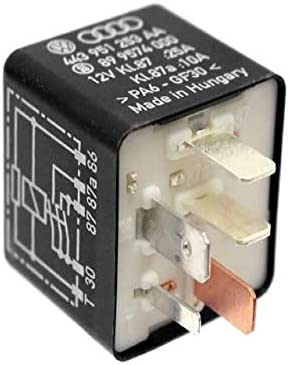 Genuine OEM Accessory Power Volkswagen 443951253AA Relay 2021 autumn and winter new for Outlet ☆ Free Shipping
